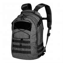 Helikon EDC Backpack - Nylon Black-Grey Melange