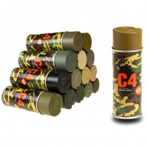 C4 Mil Grade Color Spray Coyote