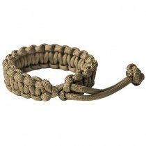 Pitchfork Paracord Bracelet Knotted - Coyote