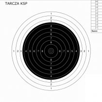 Range Solutions KSP Sports Carbine 50m Target 100pcs