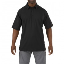 5.11 Rapid Performance Short Sleeve Polo - Black
