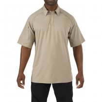5.11 Rapid Performance Short Sleeve Polo - Silver Tan