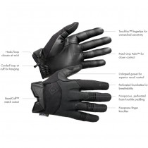 First Tactical Men's Medium Duty Padded Glove - Black 6