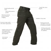 First Tactical Men's Defender Pant - Black - 40 - 32