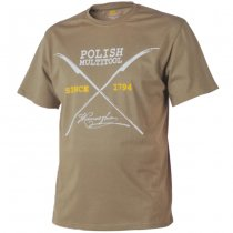 Helikon T-Shirt Polish Multitool - Coyote - L