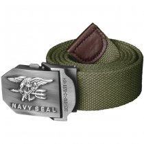 Helikon Navy Seal's Cotton Belt - Olive Green - M