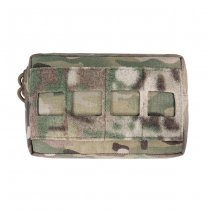 Warrior Laser Cut Small Horizontal Utility Pouch - Multicam