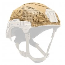 Team Wendy EXFIL Carbon & LTP Helmet & LTP Rail 3.0 Cover - Coyote
