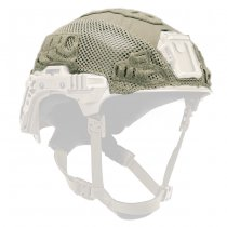 Team Wendy EXFIL Carbon & LTP Helmet & LTP Rail 3.0 Cover - Ranger Green