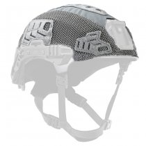 Team Wendy EXFIL Carbon & LTP Helmet & LTP Rail 3.0 Cover - Wolf Grey