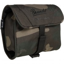 Brandit Toiletry Bag Medium - Dark Camo