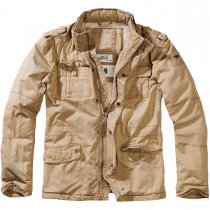 Brandit Britannia Winter Jacket - Camel - 5XL