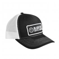 Black Rifle Coffee Classic Company Logo Patch Hat - Black / White