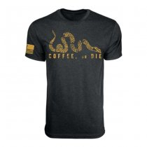 Black Rifle Coffee Coffee Or Die T-Shirt - Gold - S