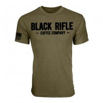 Black Rifle Coffee Vintage Logo T-Shirt - Green - S