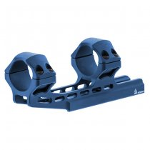 Leapers Accu-Sync 30mm High Profile 50mm Offset Mount - Blue